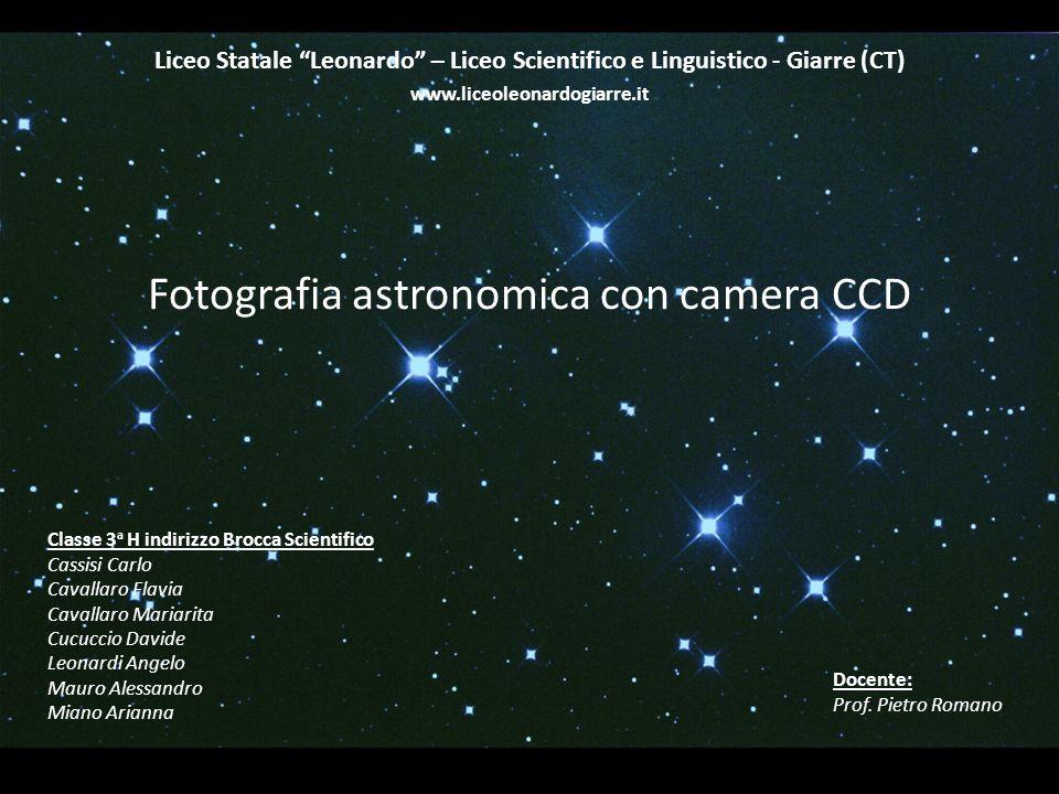 Fotografia Astronomica Con Camera Ccd Ppt Video Online Scaricare