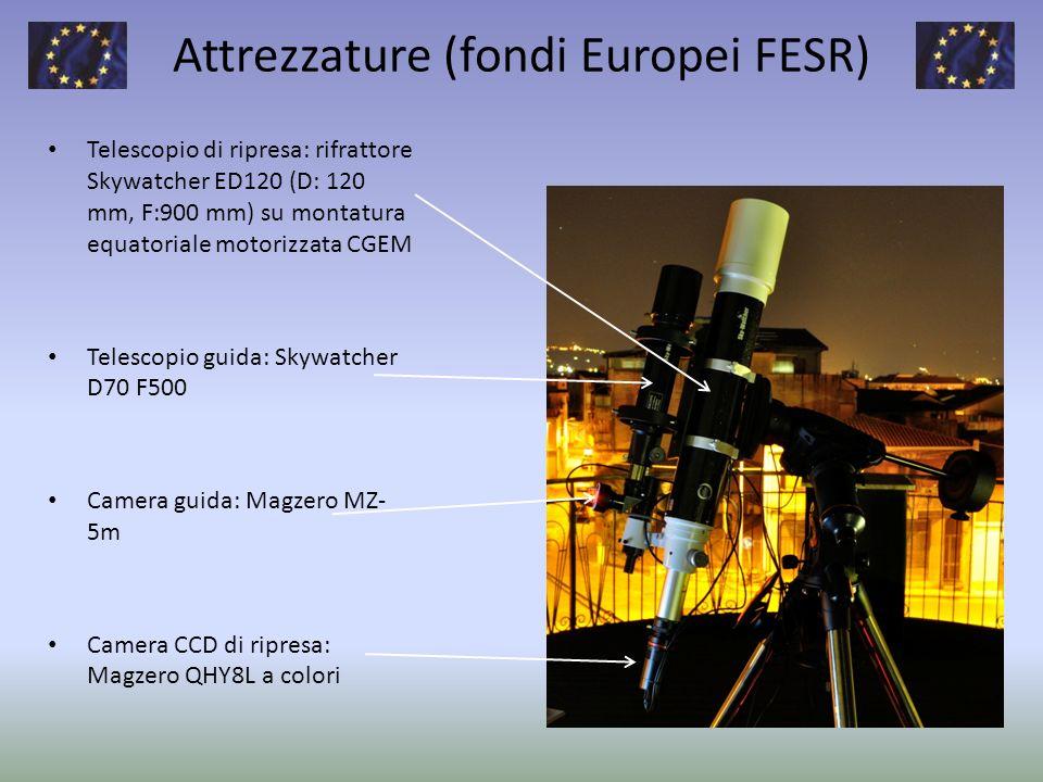 Attrezzature (fondi Europei FESR)