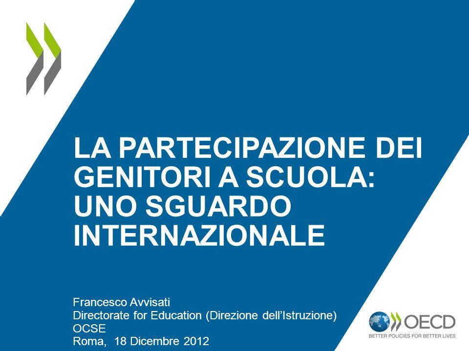 La partecipazione dei genitori a Scuola: uno sguardo internazionale