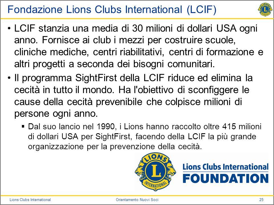 Fondazione Lions Clubs International (LCIF)