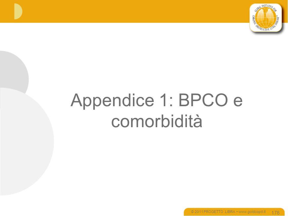 Appendice 1: BPCO e comorbidità