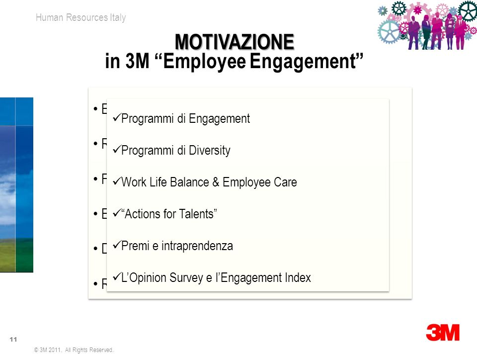 in 3M Employee Engagement