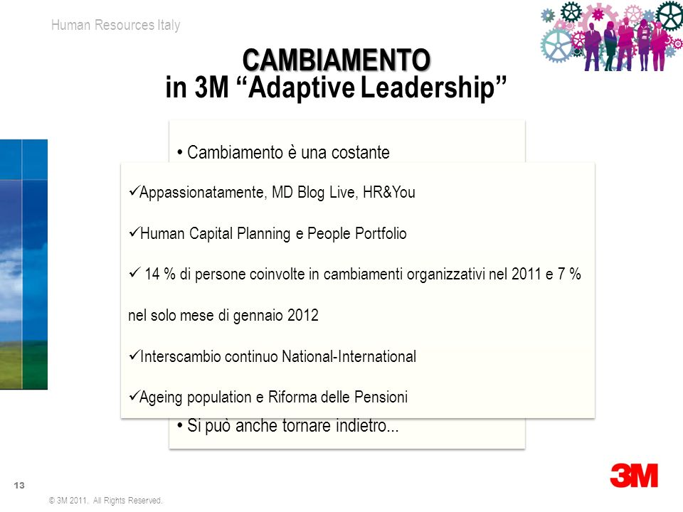 in 3M Adaptive Leadership