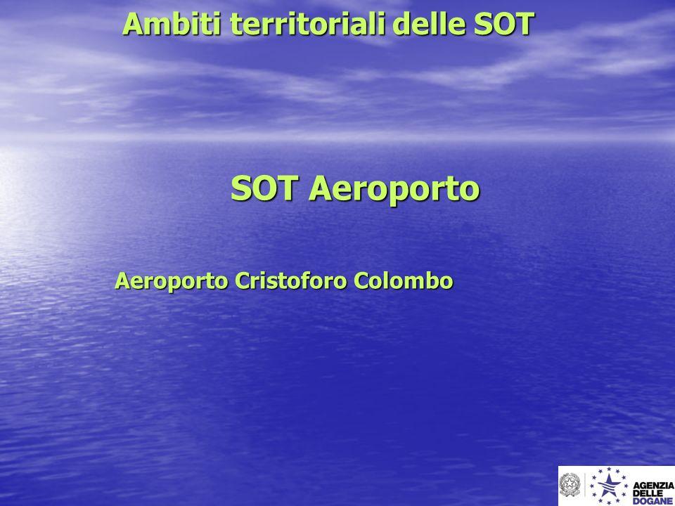 Ambiti territoriali delle SOT