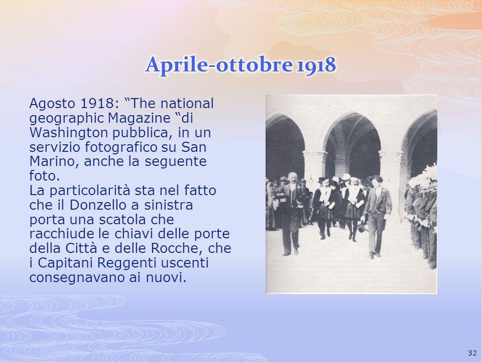 Aprile-ottobre 1918