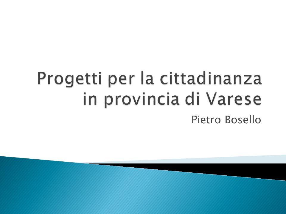 Progetti per la cittadinanza in provincia di Varese