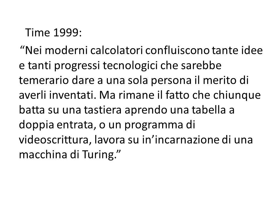 Time 1999: