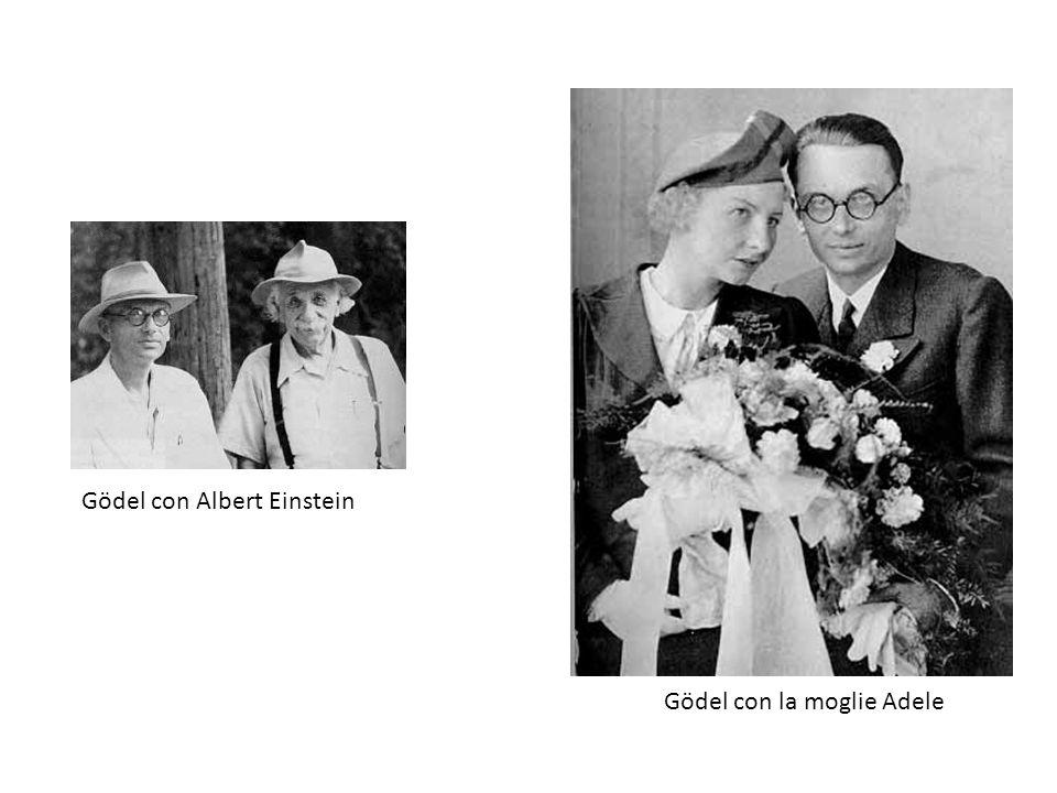 Gödel con Albert Einstein