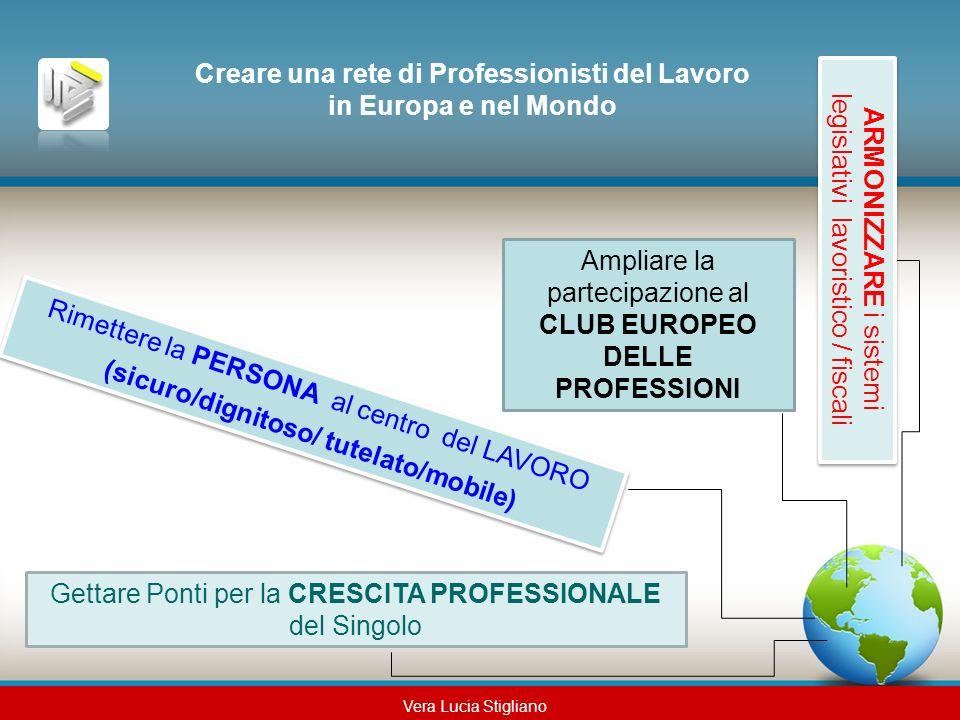 Creare una rete di Professionisti del Lavoro in Europa e nel Mondo