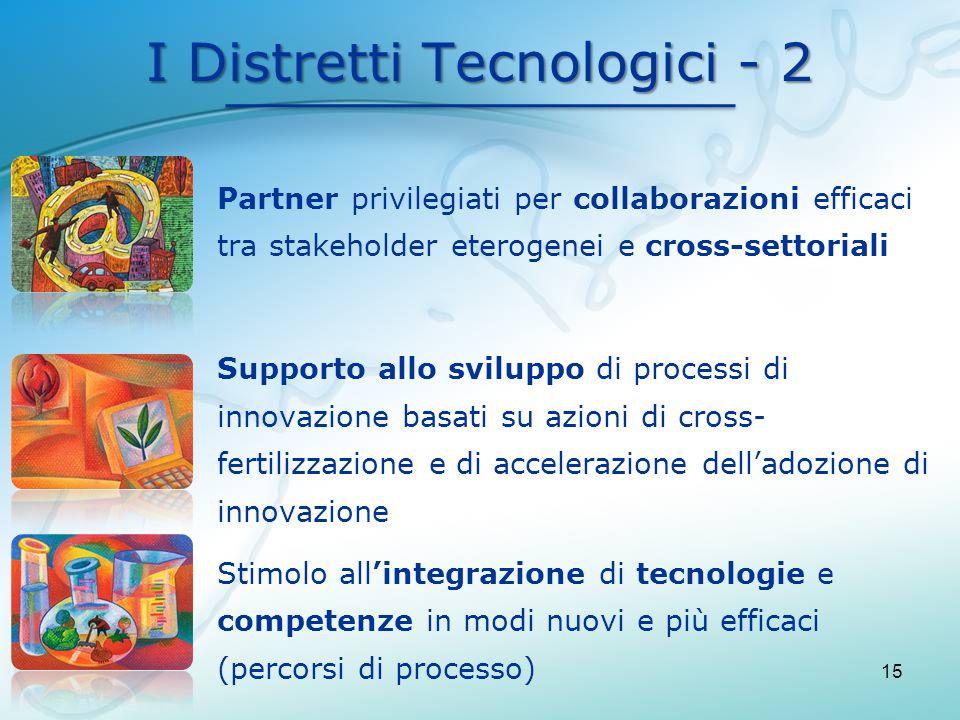 I Distretti Tecnologici - 2