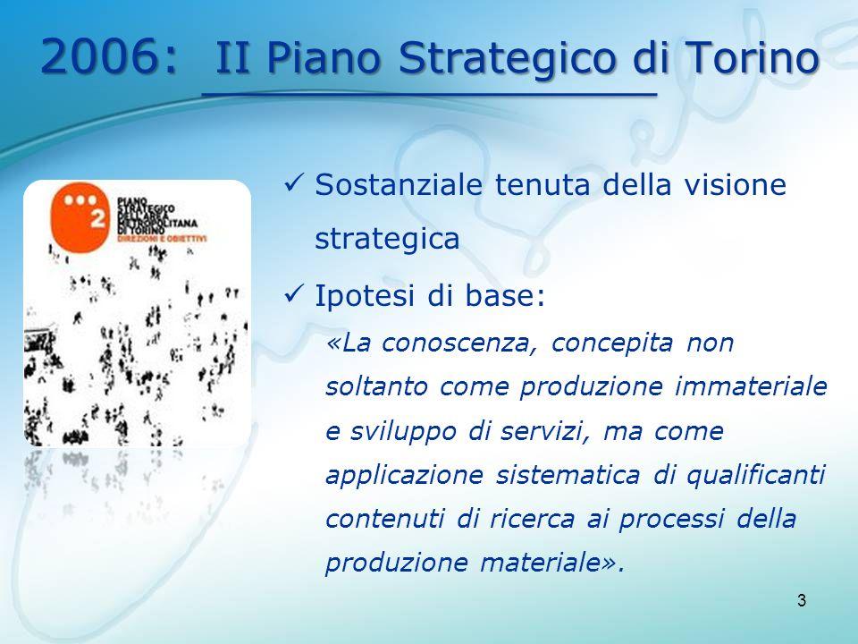 2006: II Piano Strategico di Torino