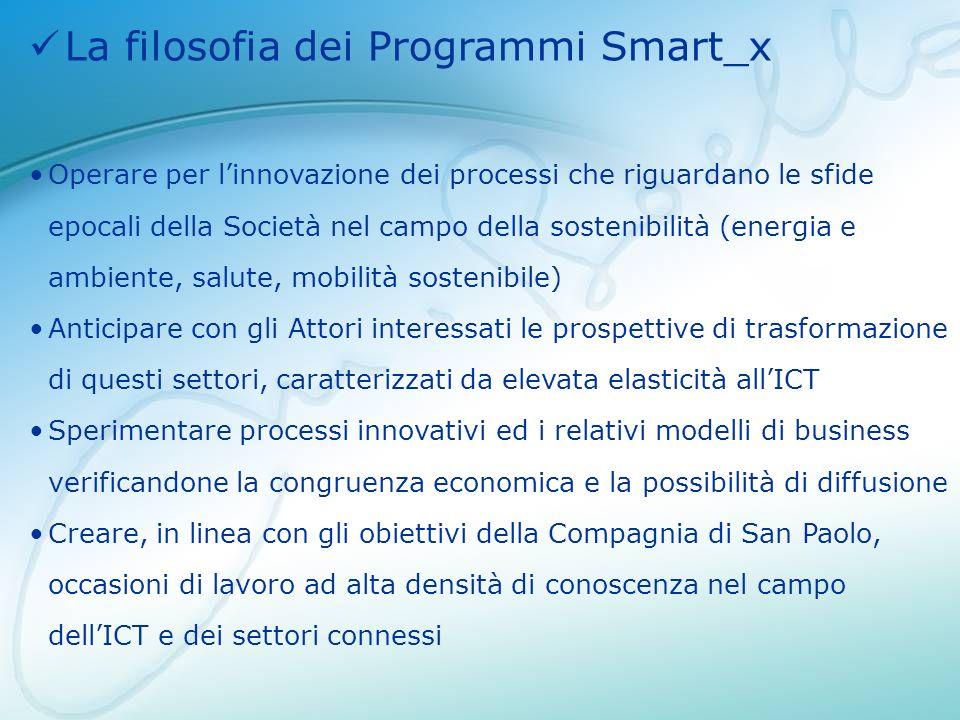 La filosofia dei Programmi Smart_x