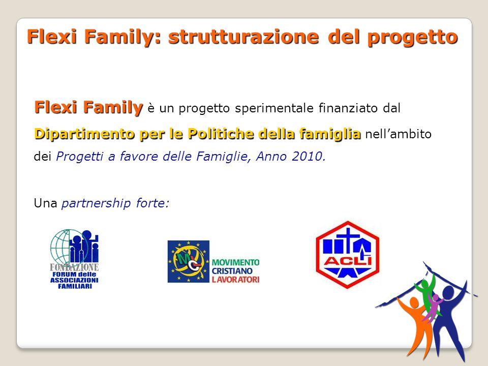 Flexi Family: strutturazione del progetto