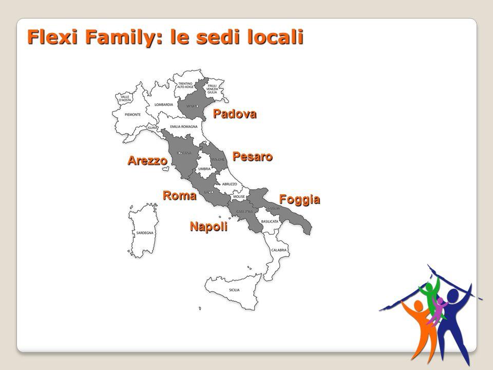 Flexi Family: le sedi locali