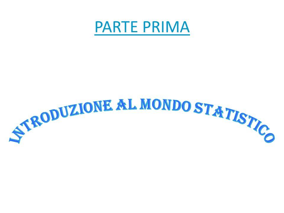INTRODUZIONE AL MONDO STATISTICO