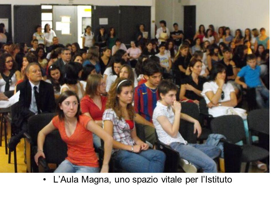 L'Aula Magna, uno spazio vitale per l'Istituto