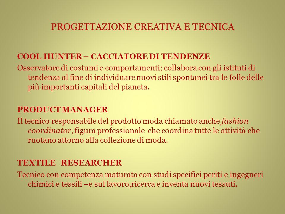 PROGETTAZIONE CREATIVA E TECNICA