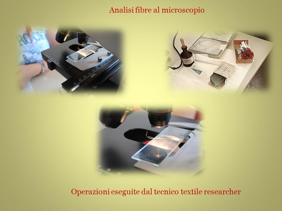 Analisi fibre al microscopio