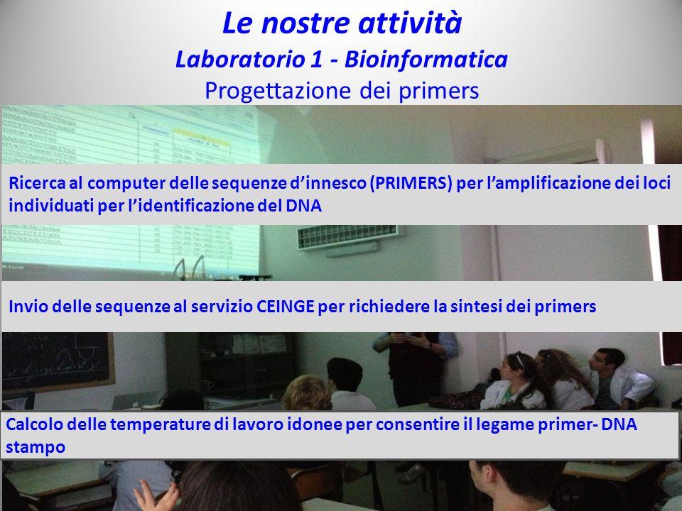 Laboratorio 1 - Bioinformatica