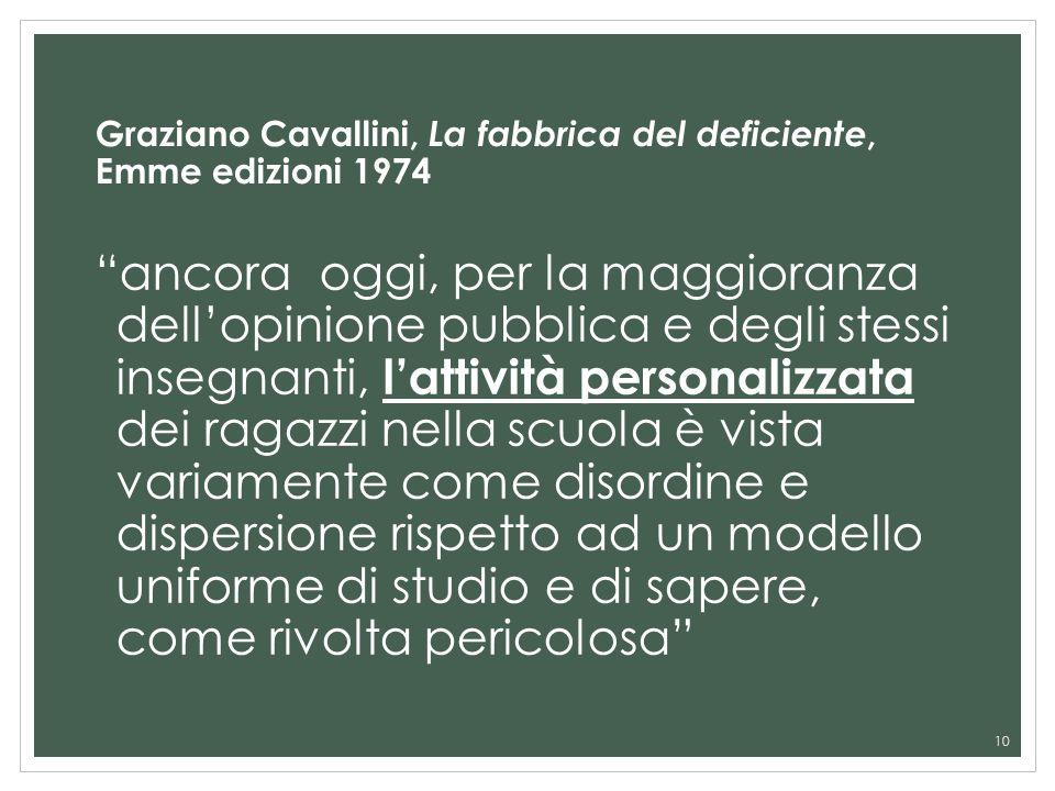 Graziano Cavallini, La fabbrica del deficiente, Emme edizioni 1974