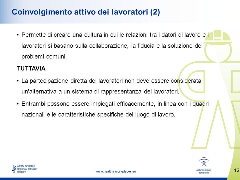 Coinvolgimento attivo dei lavoratori (2)