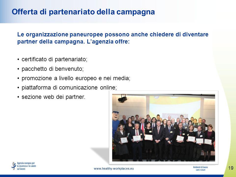 Offerta di partenariato della campagna