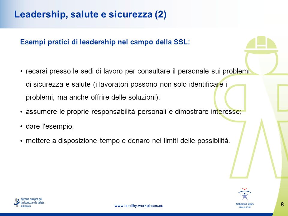 Leadership, salute e sicurezza (2)