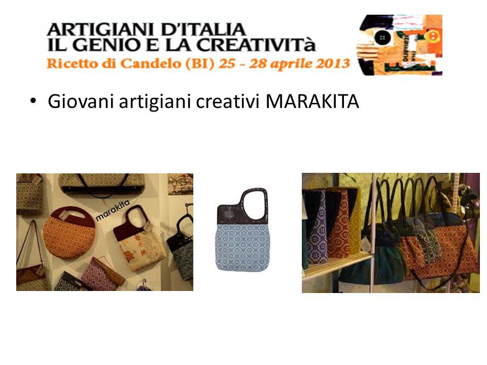 Giovani artigiani creativi MARAKITA