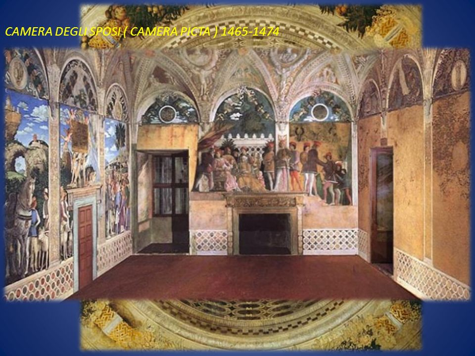 CAMERA DEGLI SPOSI ( CAMERA PICTA ) 1465-1474