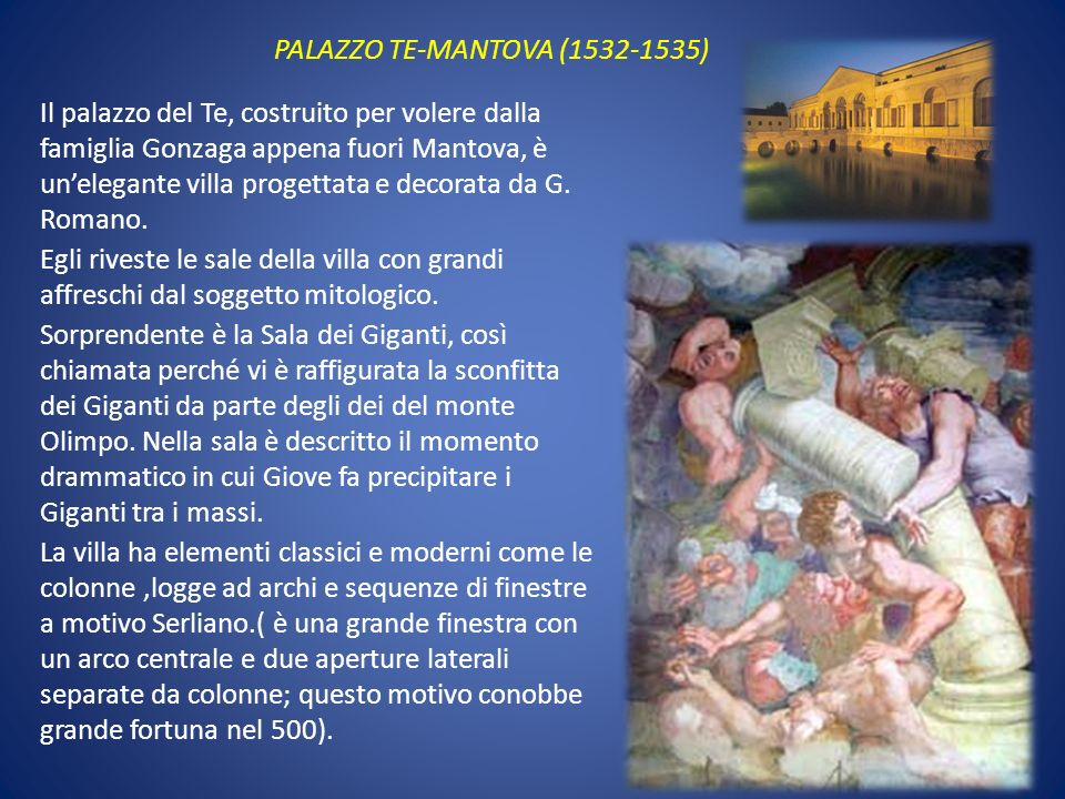 PALAZZO TE-MANTOVA (1532-1535)