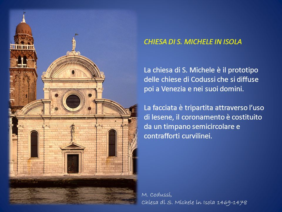 CHIESA DI S. MICHELE IN ISOLA