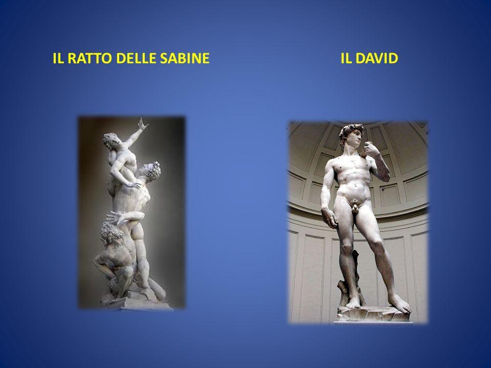 IL RATTO DELLE SABINE IL DAVID