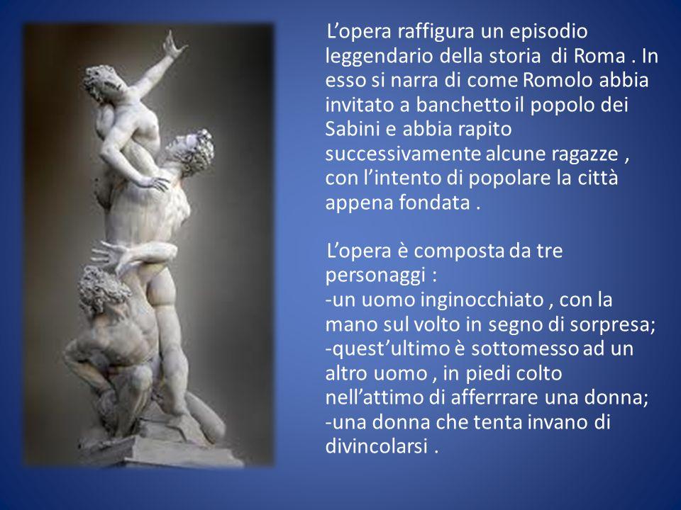 L'opera raffigura un episodio leggendario della storia di Roma