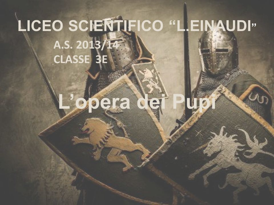 LICEO SCIENTIFICO L.EINAUDI