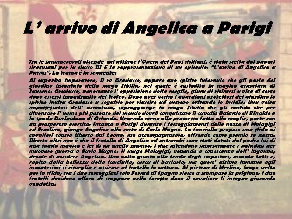 L' arrivo di Angelica a Parigi