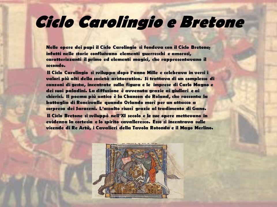 Ciclo Carolingio e Bretone