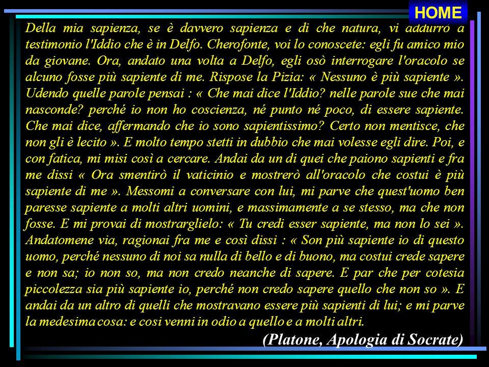 (Platone, Apologia di Socrate)