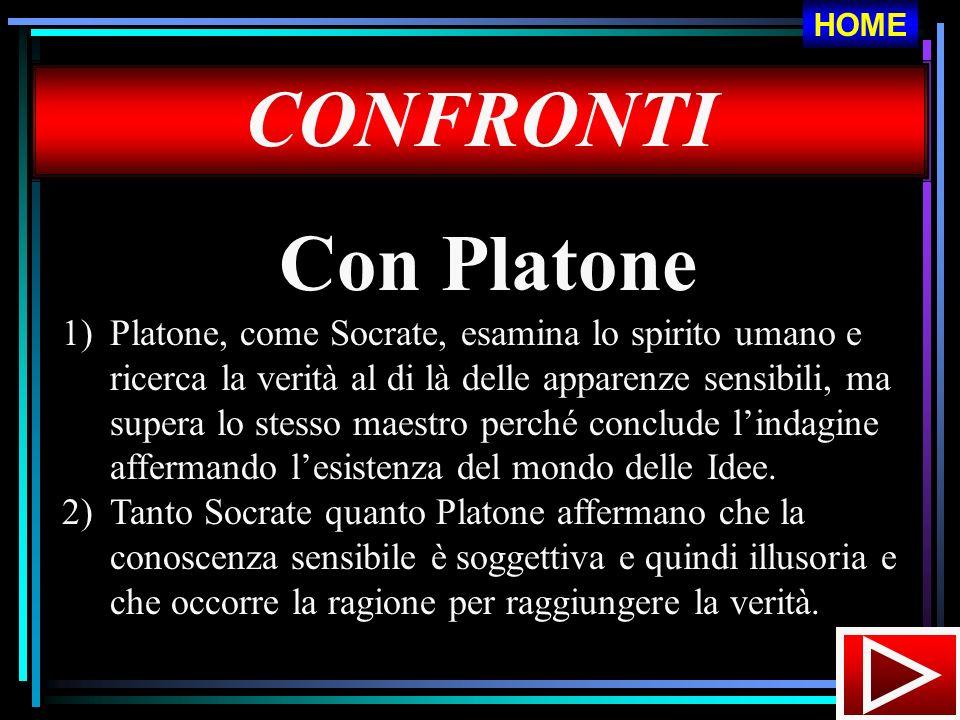 HOME CONFRONTI. Con Platone.