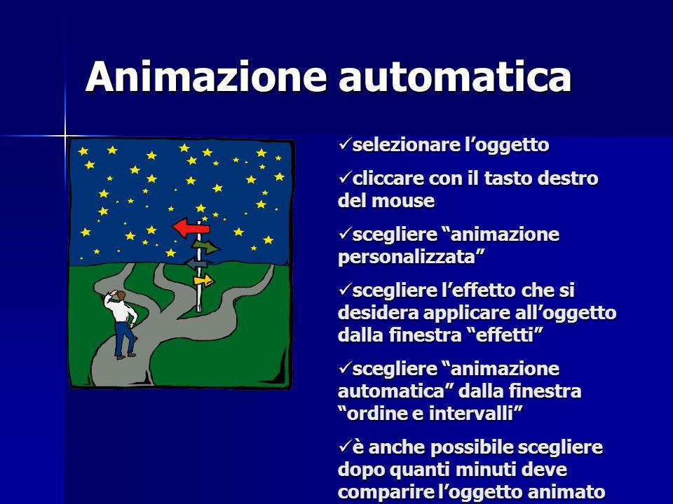 Animazione automatica