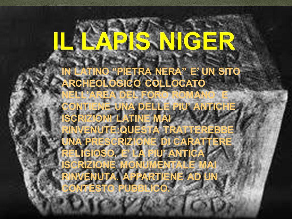 IL LAPIS NIGER