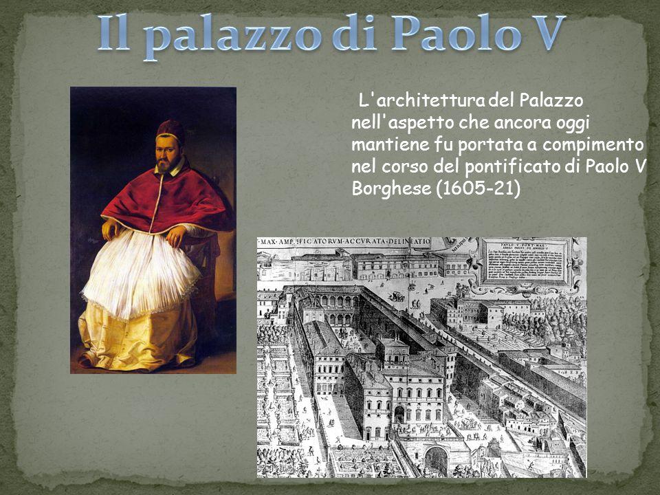 Il palazzo di Paolo V