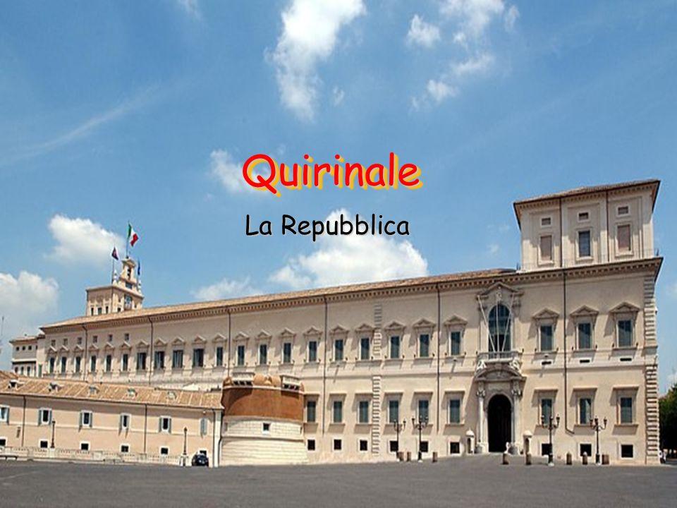 Quirinale La Repubblica