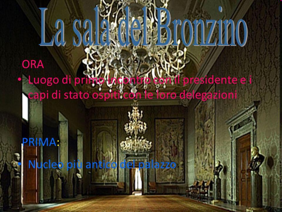 La sala del Bronzino ORA