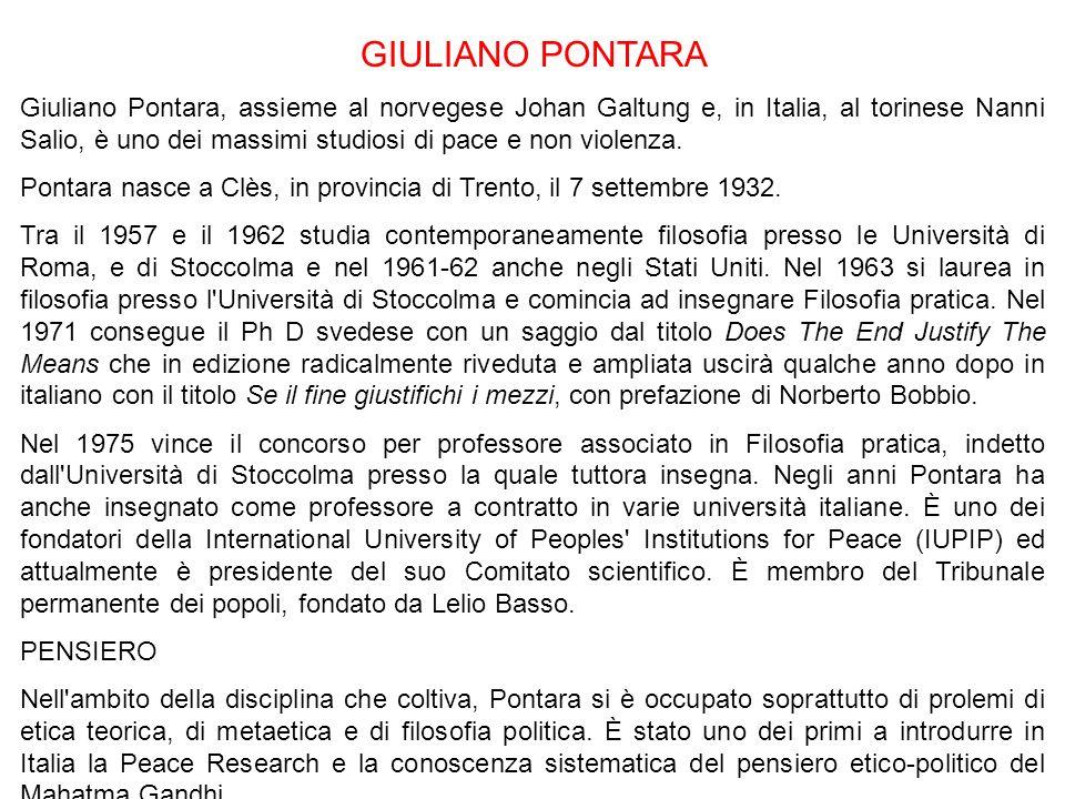 GIULIANO PONTARA