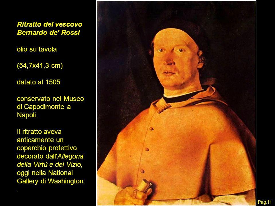 Ritratto del vescovo Bernardo de Rossi