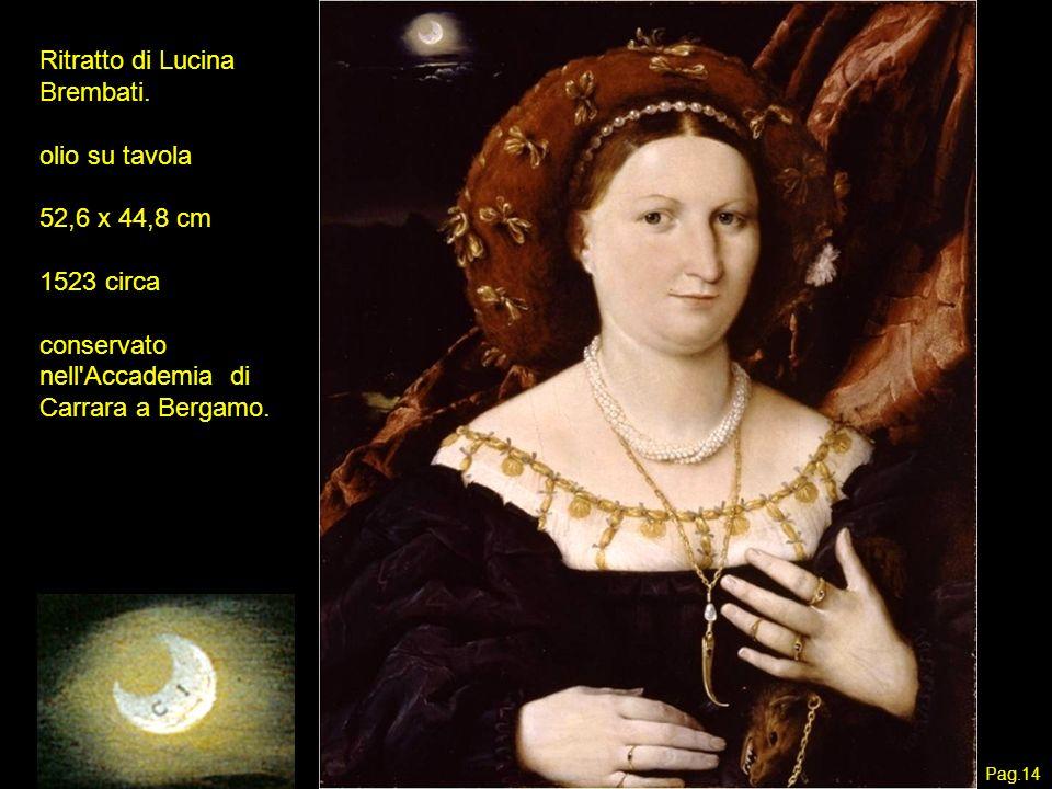 Ritratto di Lucina Brembati.