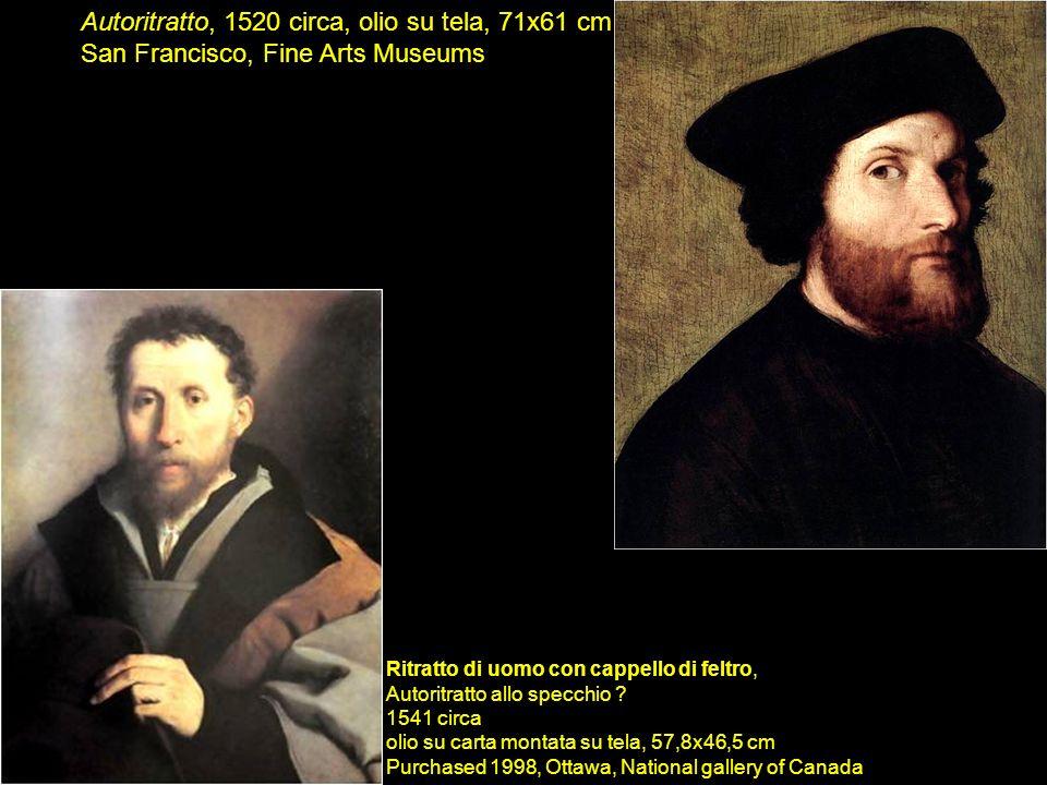 Autoritratto, 1520 circa, olio su tela, 71x61 cm San Francisco, Fine Arts Museums