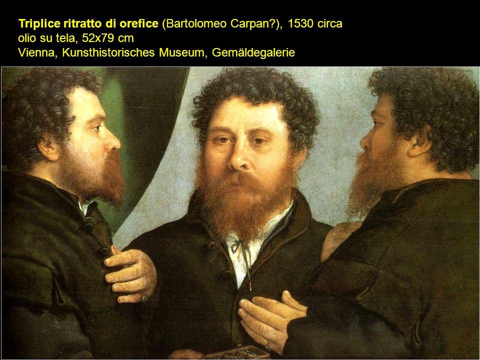 Triplice ritratto di orefice (Bartolomeo Carpan