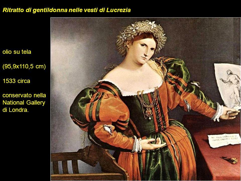 Ritratto di gentildonna nelle vesti di Lucrezia