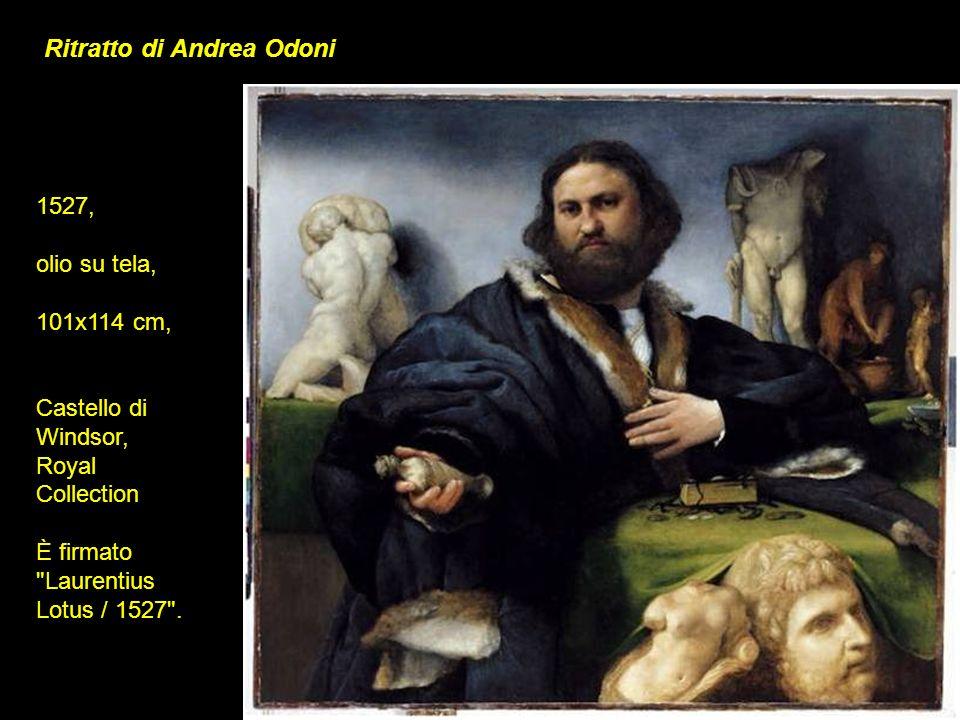 Ritratto di Andrea Odoni